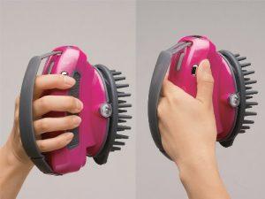 頭皮洗浄ブラシ モミダッシュ SH-2793PWのイメージ