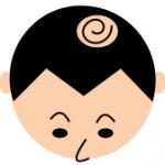 薄毛のタイプ「前頭部と頭頂部」