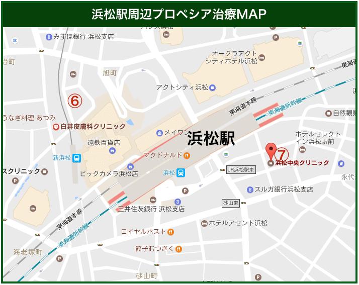 静岡プロペシア治療MAP