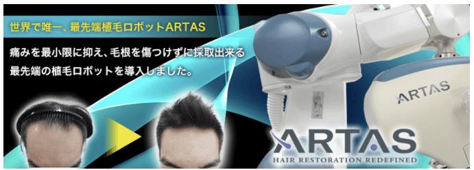 ARTASのイメージ