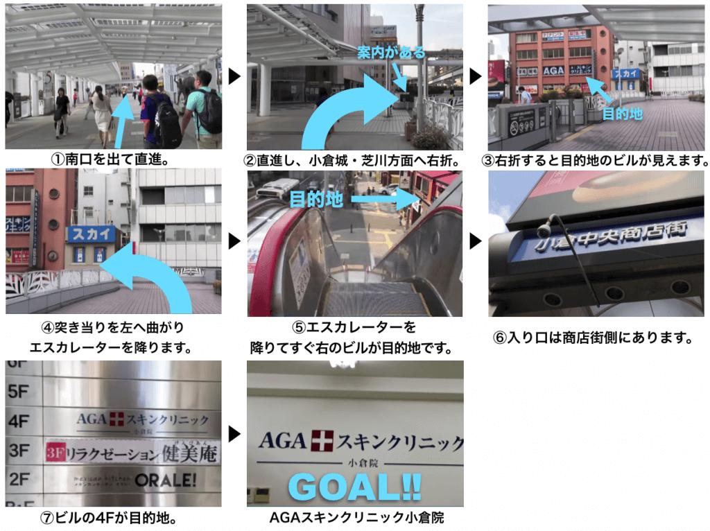 AGAスキンクリニック福岡小倉院に迷わず辿り着くための完全MAP