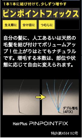 ピンポイントフィックスのイメージ
