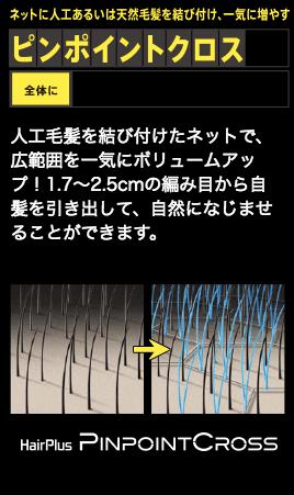 ピンポイントクロスのイメージ