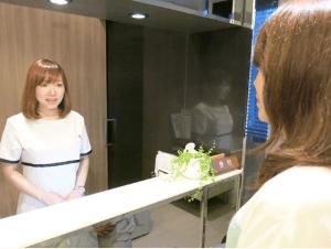 東京ビューティークリニックで行う治療までの流れ「受付・問診票の記入」イメージ