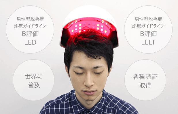 LED治療ヘアビームのイメージ